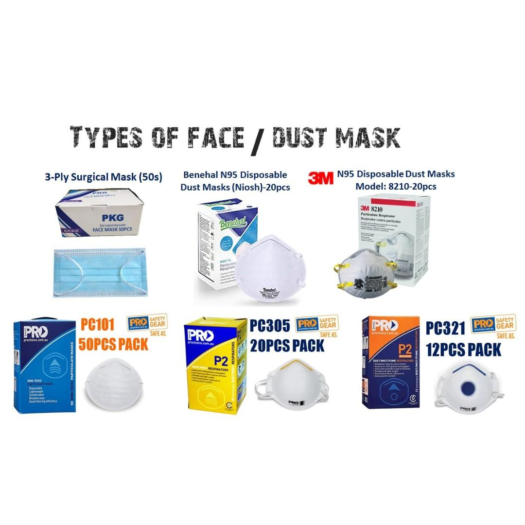 Haze N95 Mask Types And Of choice Brand Dust Mask
