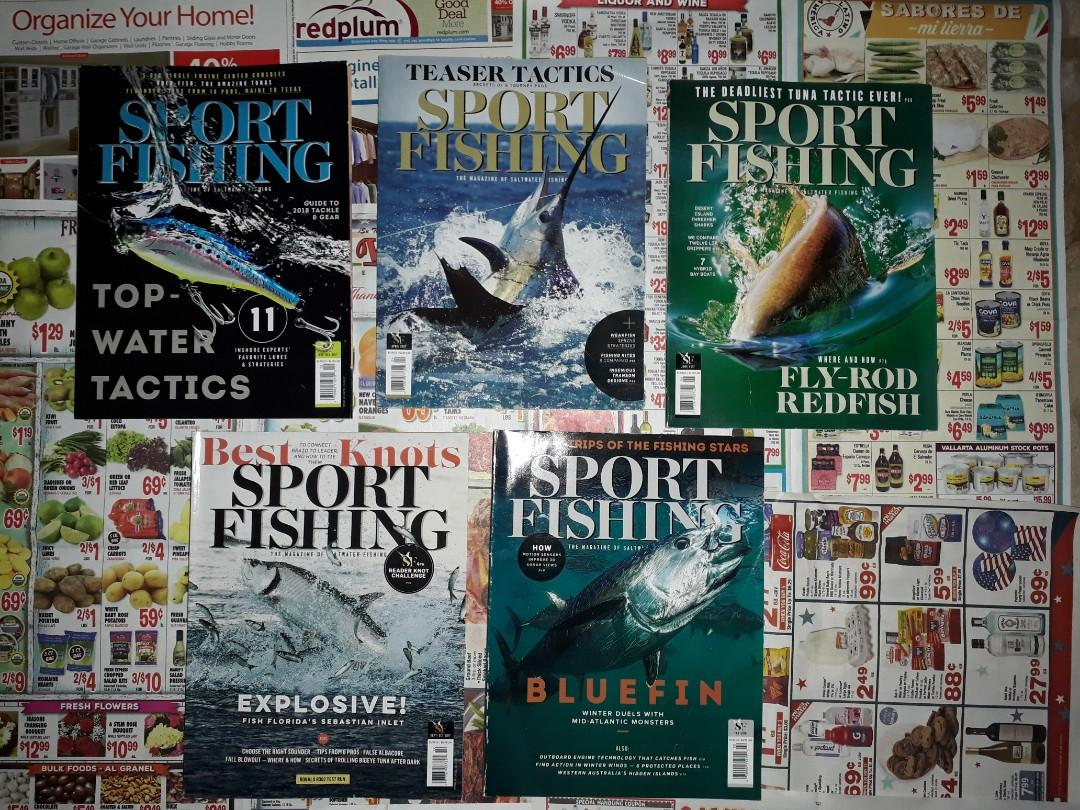 Fashion, Celebrity, Sport Fishing, Gardening, and Car Magazines (Rolling Stone, Men's Journal, Marie Claire, etc)