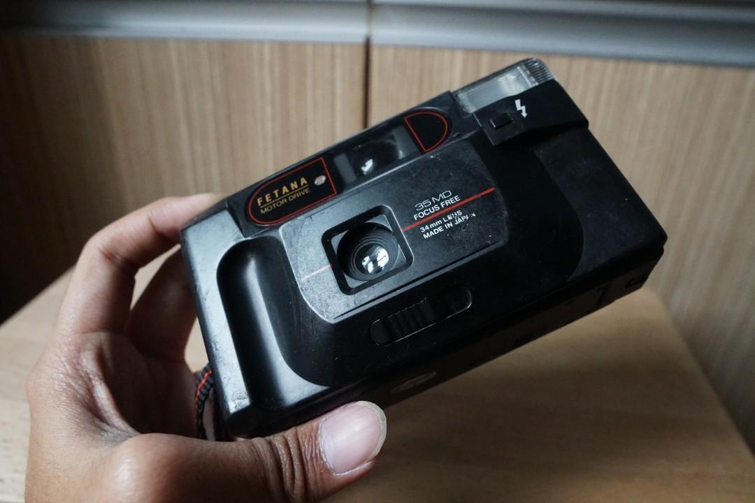 Fetana Motor Drive Film Camera