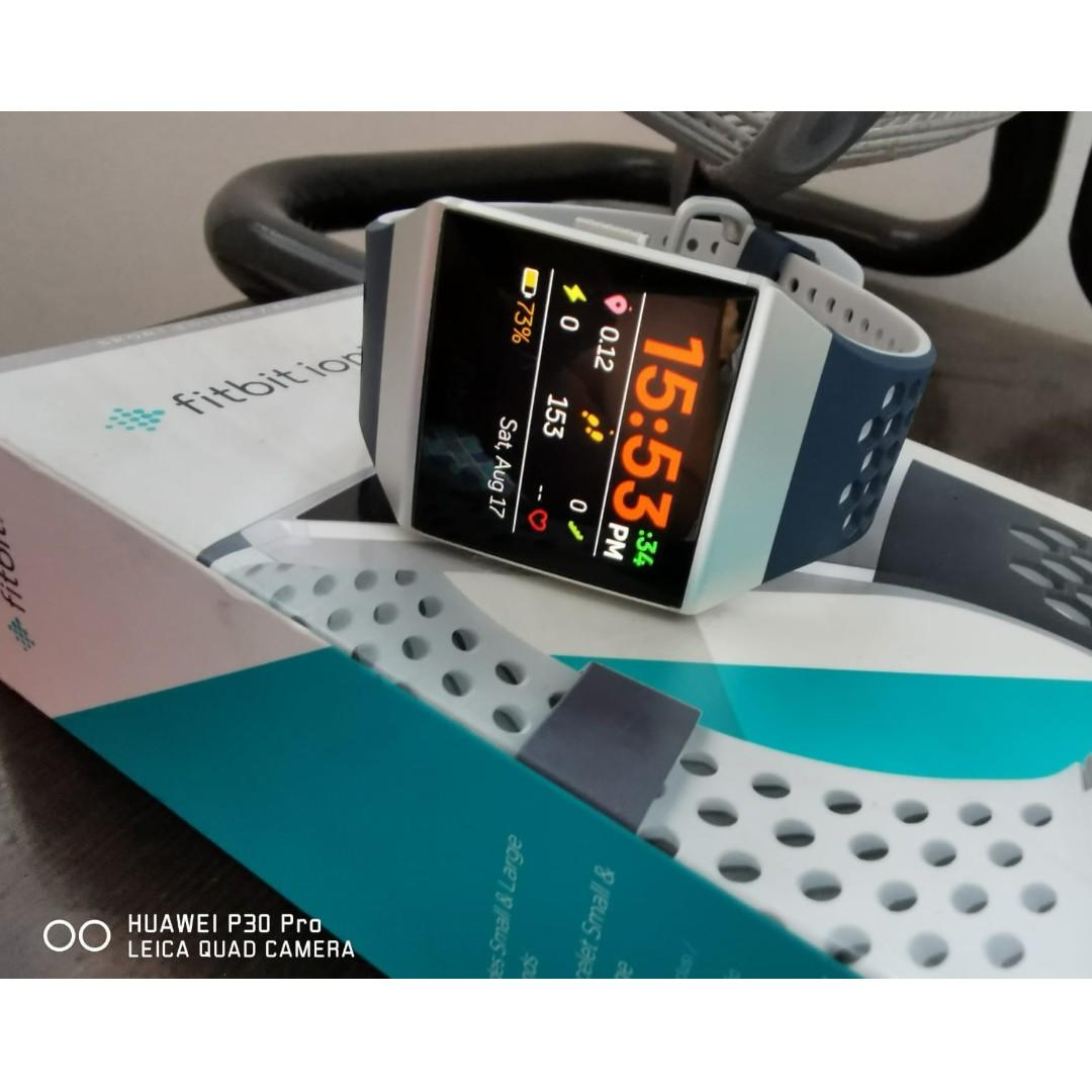 Fitbit Ionic Adidas Edition, Electronics, Others on Carousell