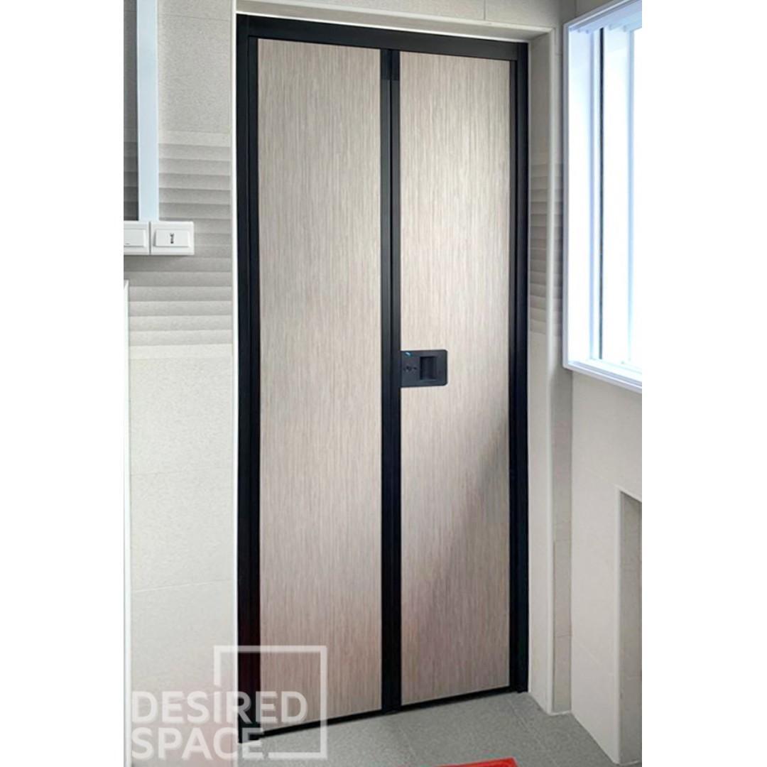 Hi Quality Toilet VFold Door