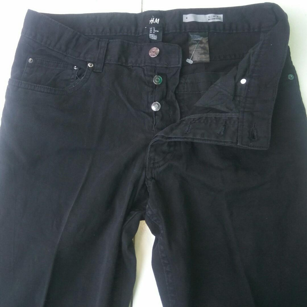 H&M - h&m jeans - celana jeans h&m