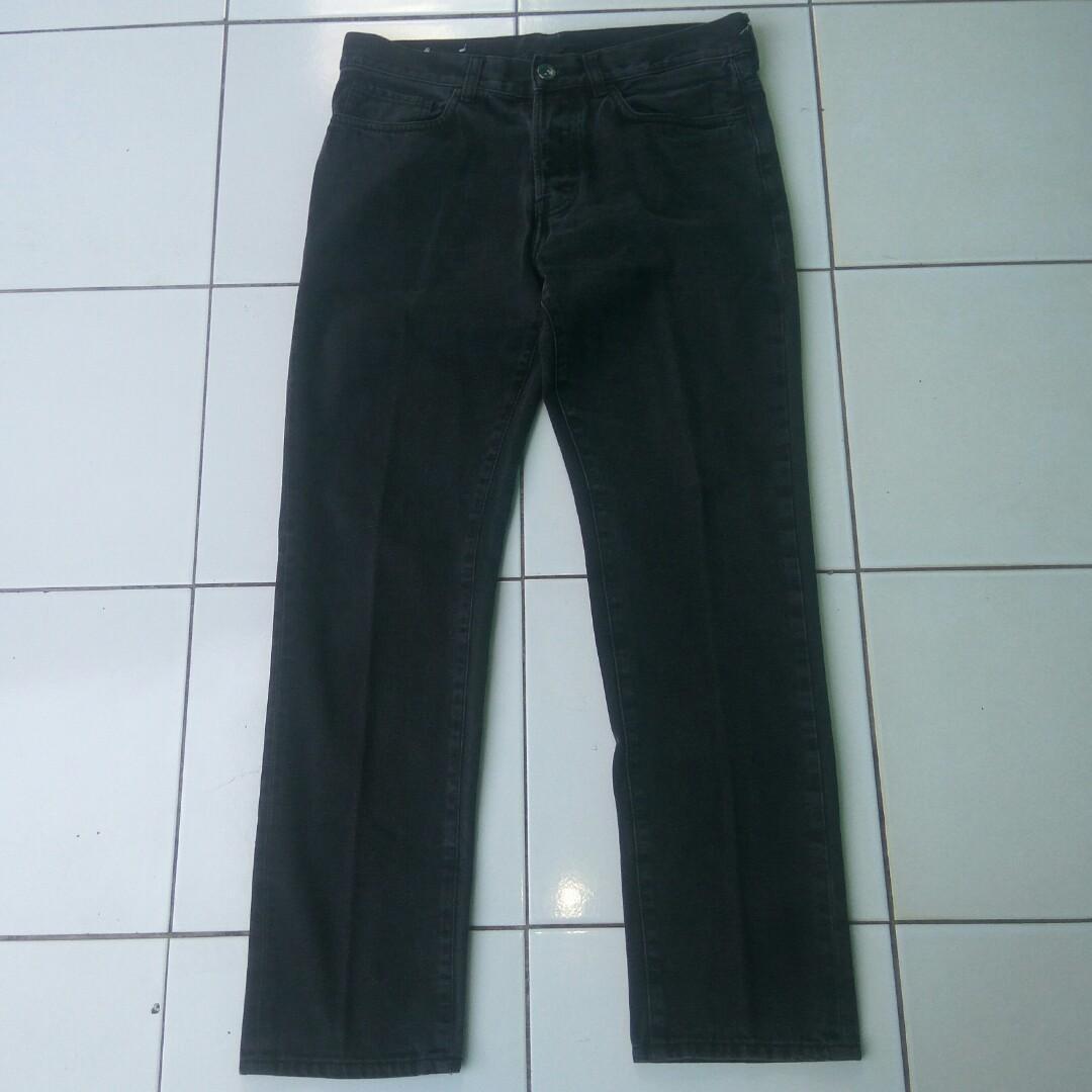 H&M Jeans Black Wash - h&m jeans - celana jeans h&m