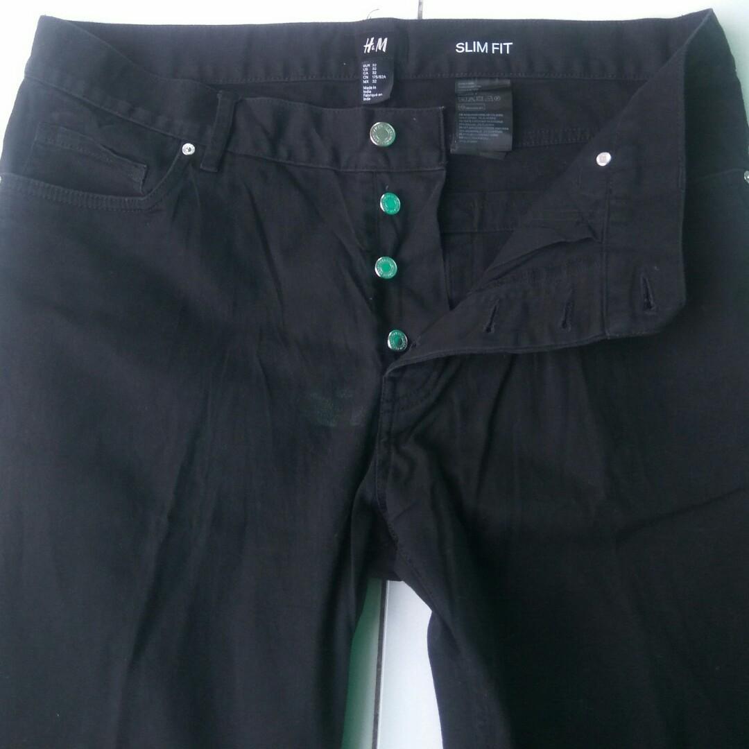H&M Jeans Slim Fit - H&M Jeans - celana jeans h&m