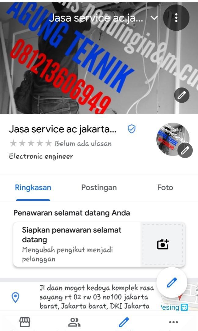 Jasa service ac jakarta
