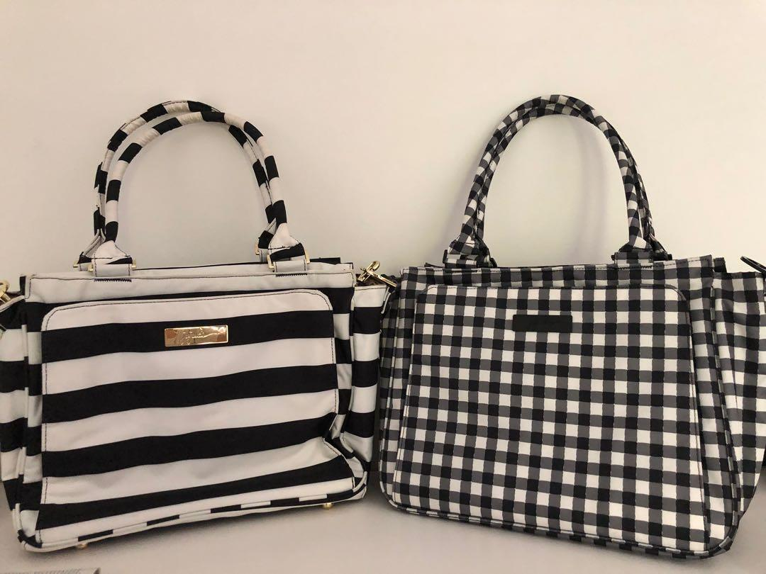 Jujube Gingham & First Lady Be Classy Bag