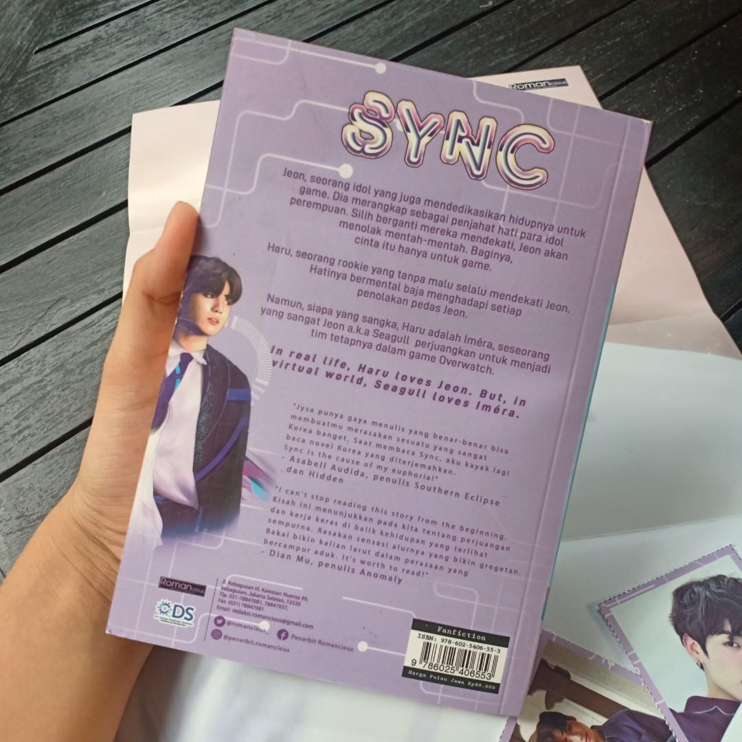 Jungkook fanfiction novel SYNC