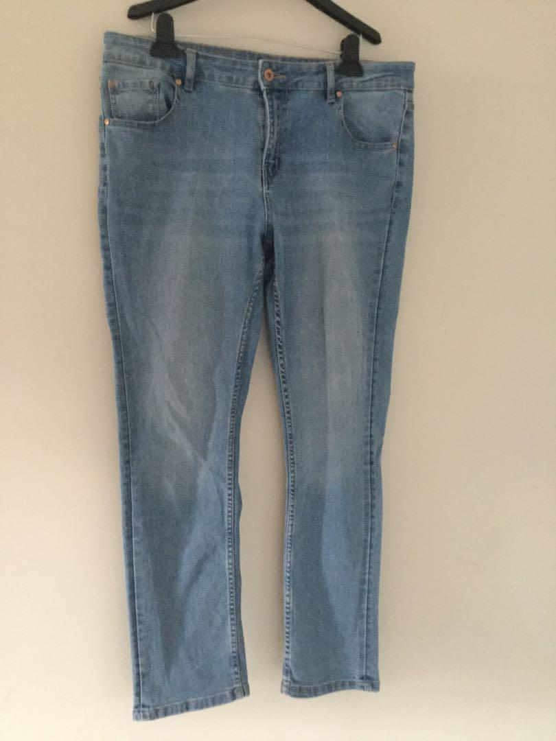 Just Jeans Size 14 denim jeans very good condition