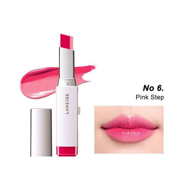 Laneige two tone lipstick No. 6 pink step *brand new*