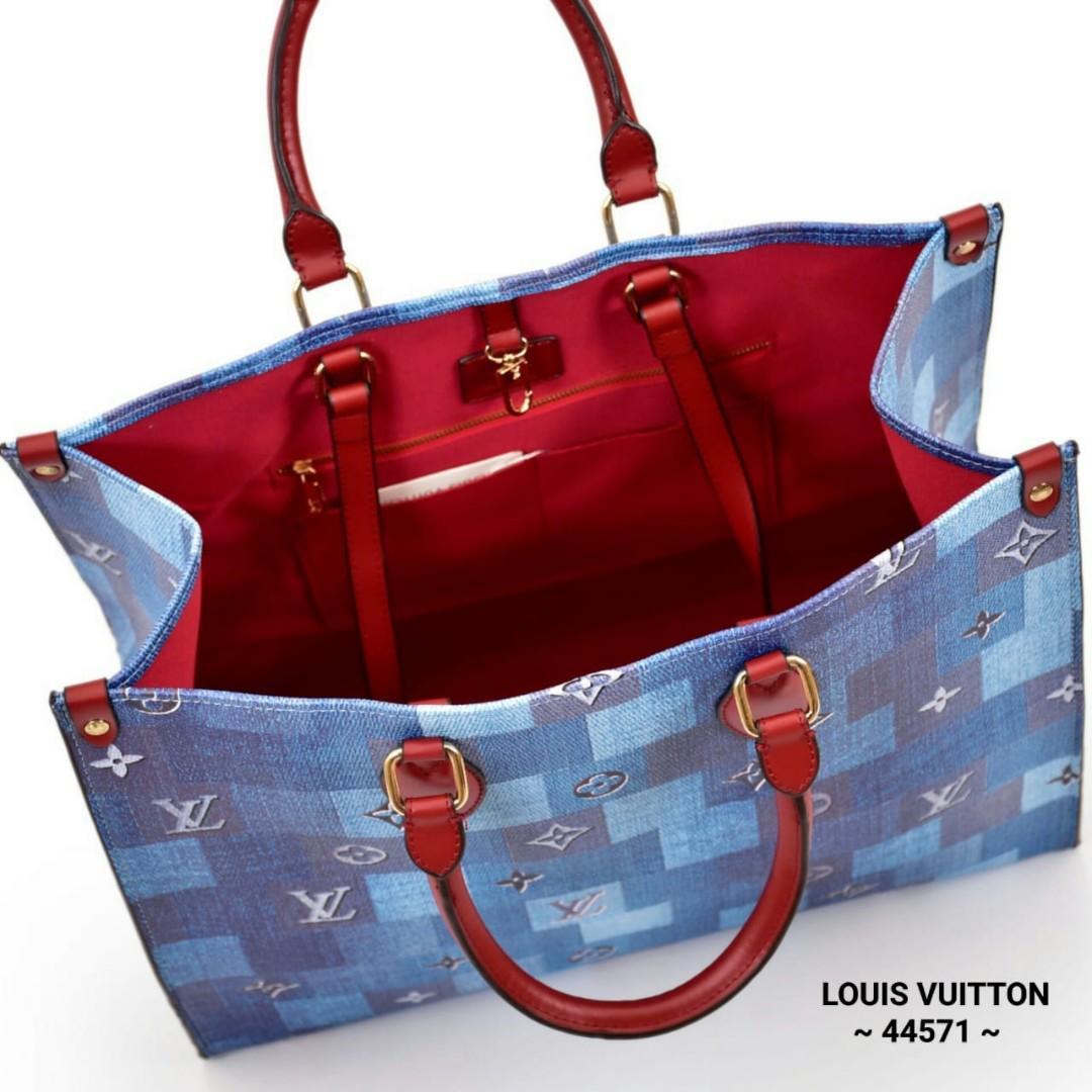 LOUIS VUITTON On The Go Monogram Giant Shoulder Bag Series ~ 44571 ~