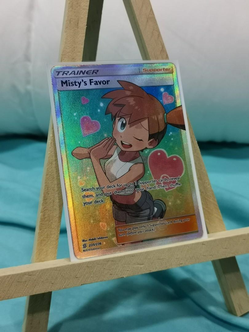 Pokemon TCG Misty/'s Favor 235//236 Sun /& Moon Unified Minds ULTRA RARE NM//M