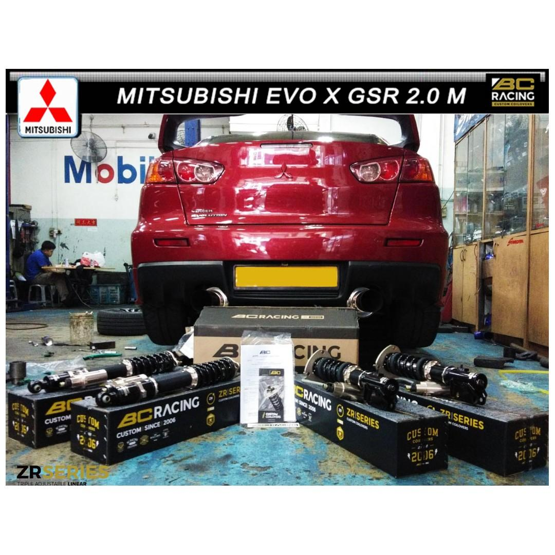 MITSUBISHI EVO X GSR 2.0 M ( BC ZR SERIERS COILOVER )