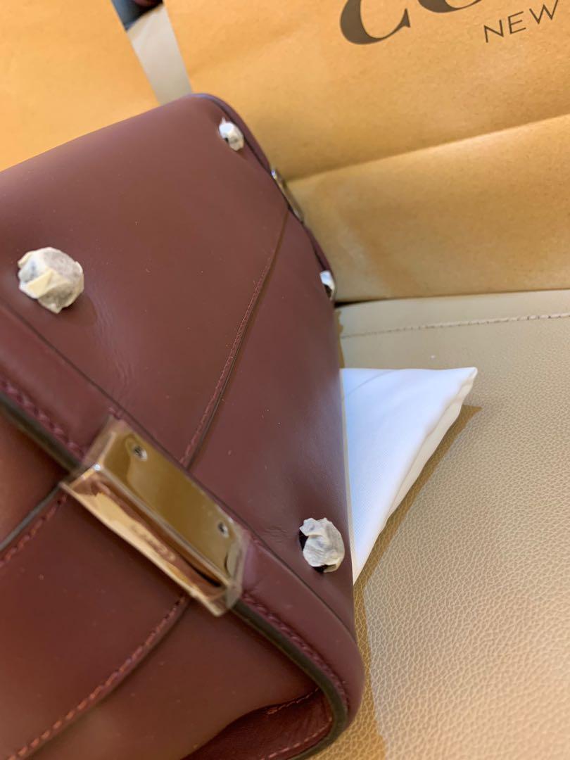 Ready stock authentic coach 36497 medium swagger handbag  0919