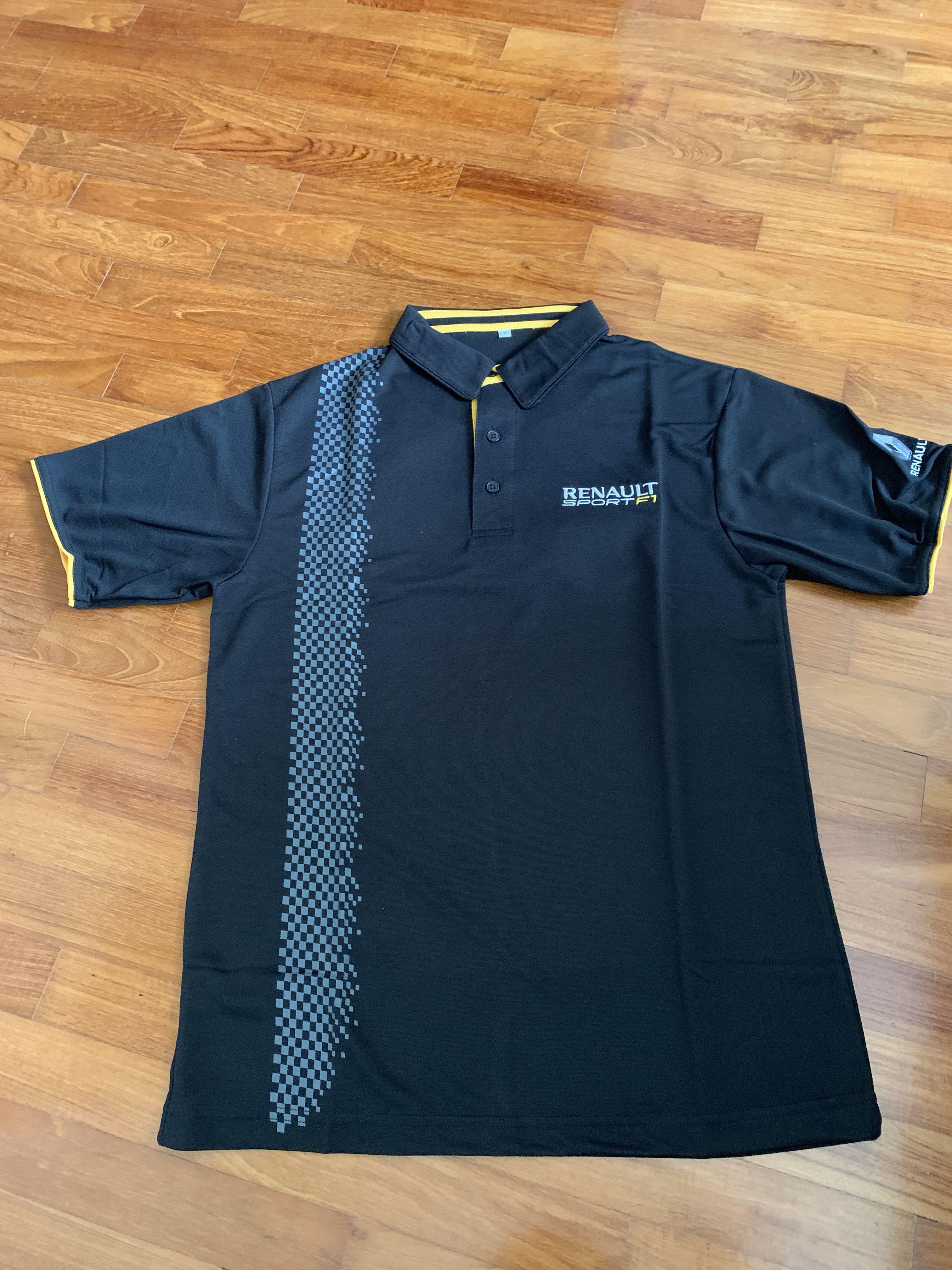 Renault Sport F1 Polo shirt (BN) #MRTRaffles #MRTTampines