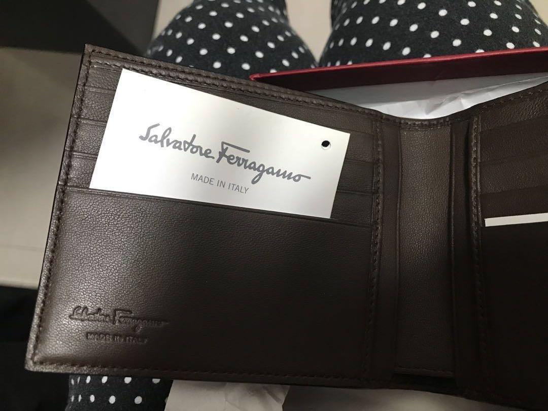 割價💥💥💥全新💫意大利🇮🇹Salvatore Ferragamo 型男銀包