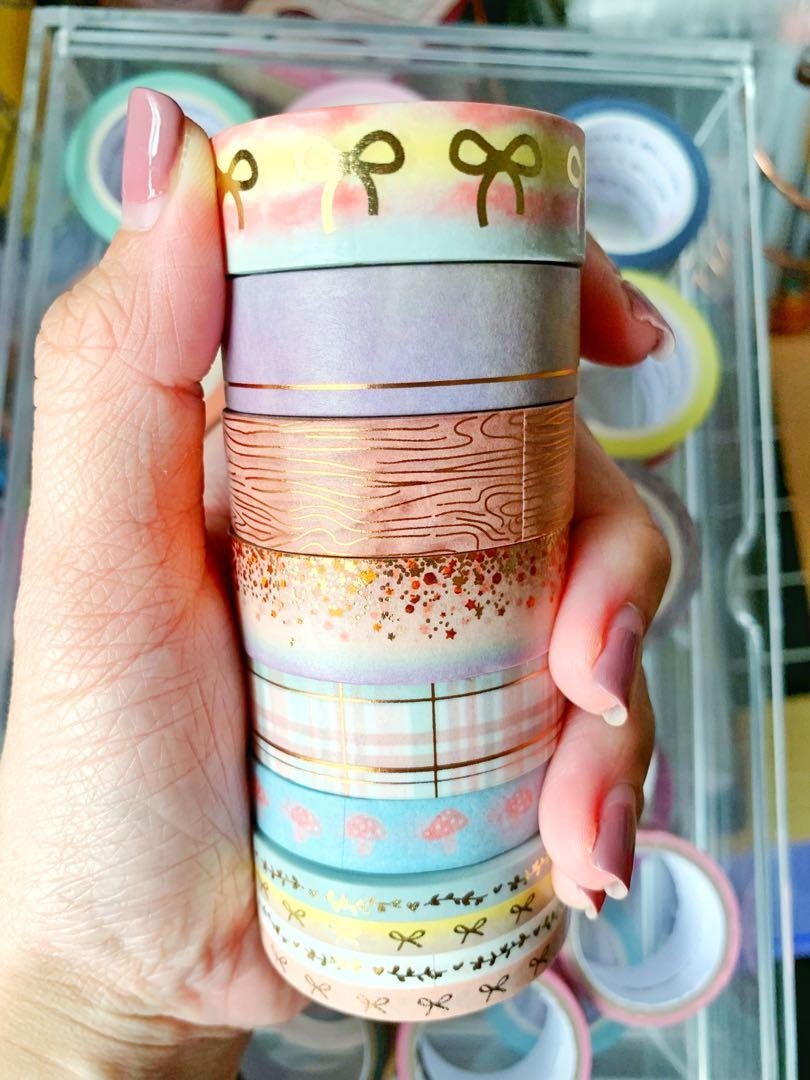 Simply Gilded Cozy & Crisp Washi Sample #304