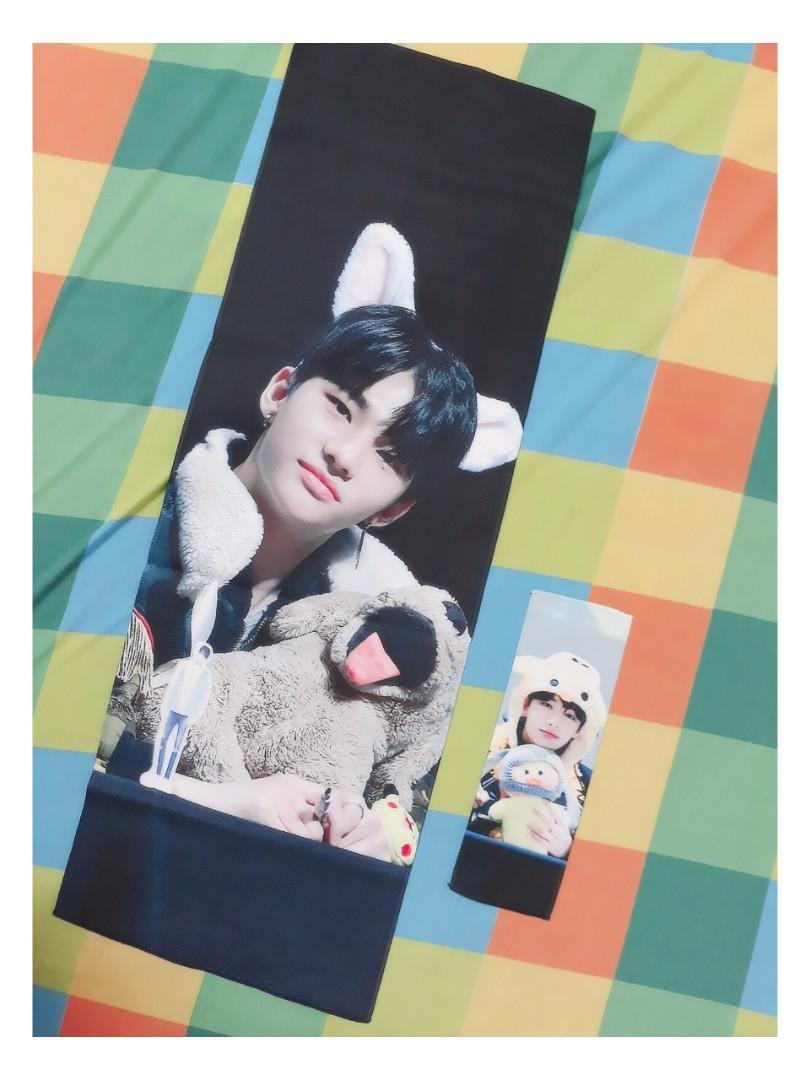 Stray Kids Hyunjin First Love 2018 Slogan (by @firstlove_hj)