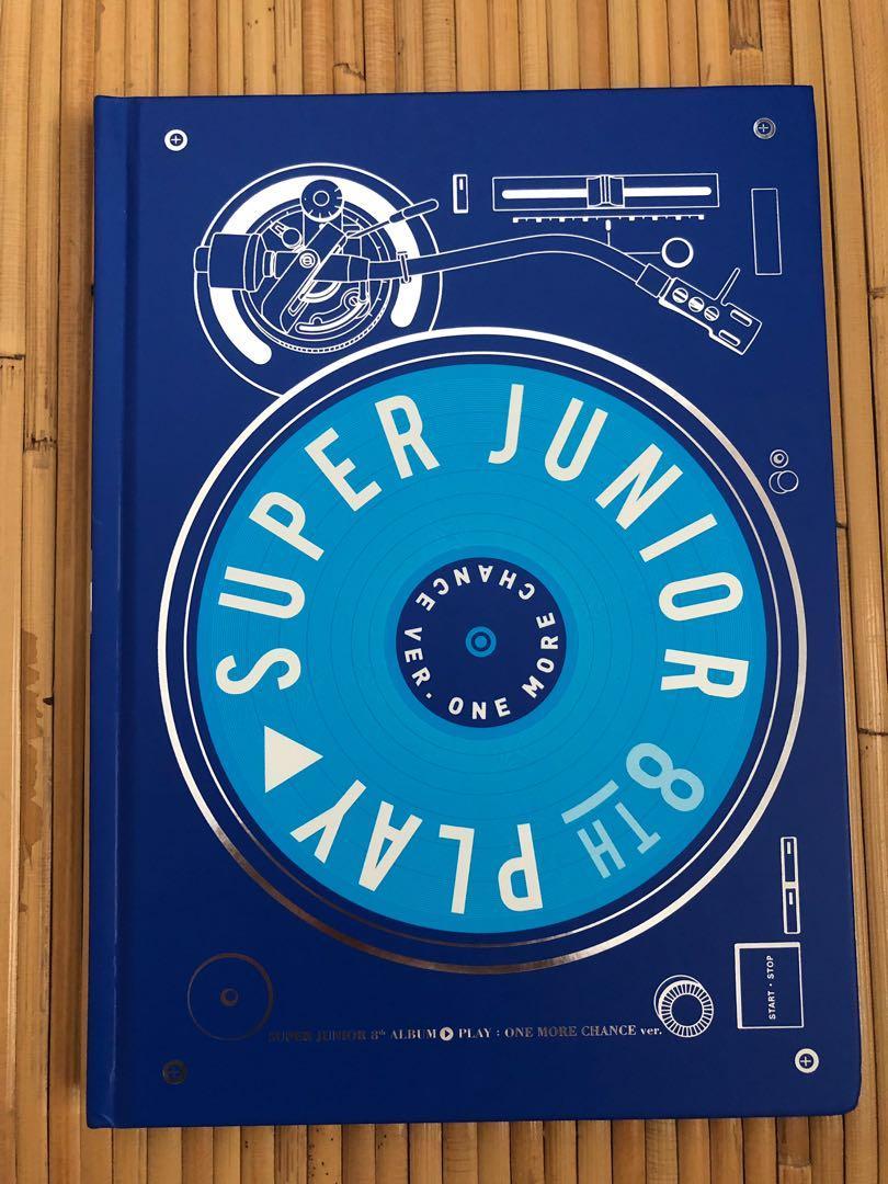 Super Junior 8th Album Play: One More Chance Version (Leeteuk PC & CD Plate)