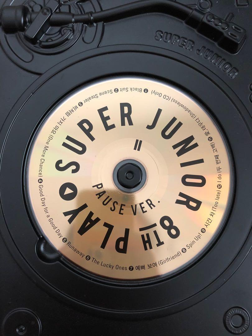 Super Junior 8th Album Play: Pause Version (Ryeowook Card)