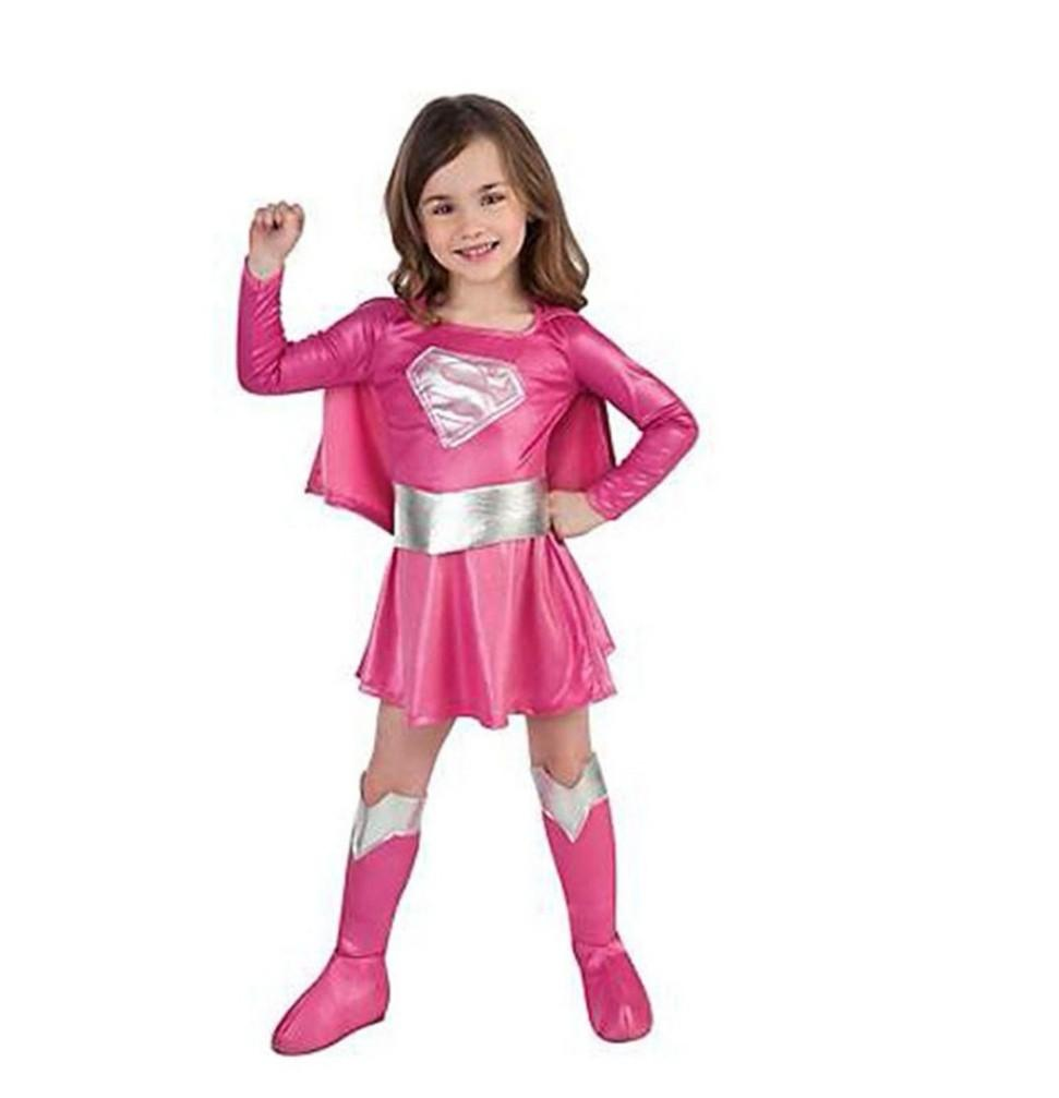 Supergirl Halloween Costume Children Kids Fantasy Dress Fantasia Wonder Costume