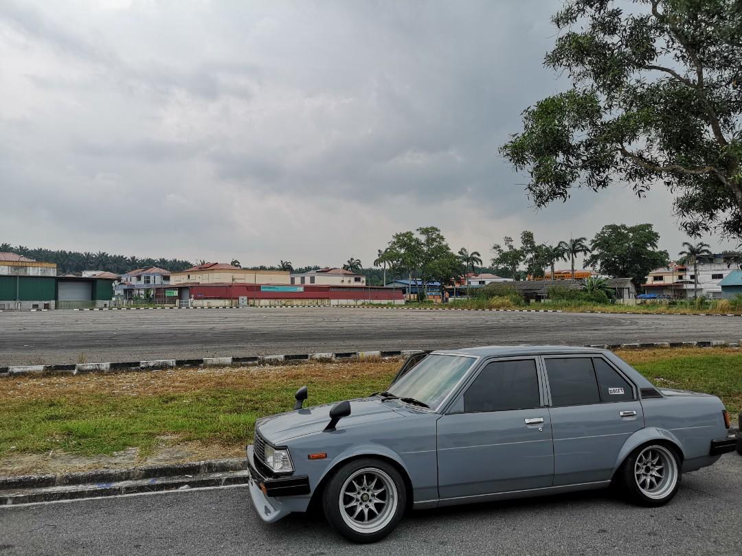 Toyota ke70 GL 20v blacktop Year1983 ready for drift