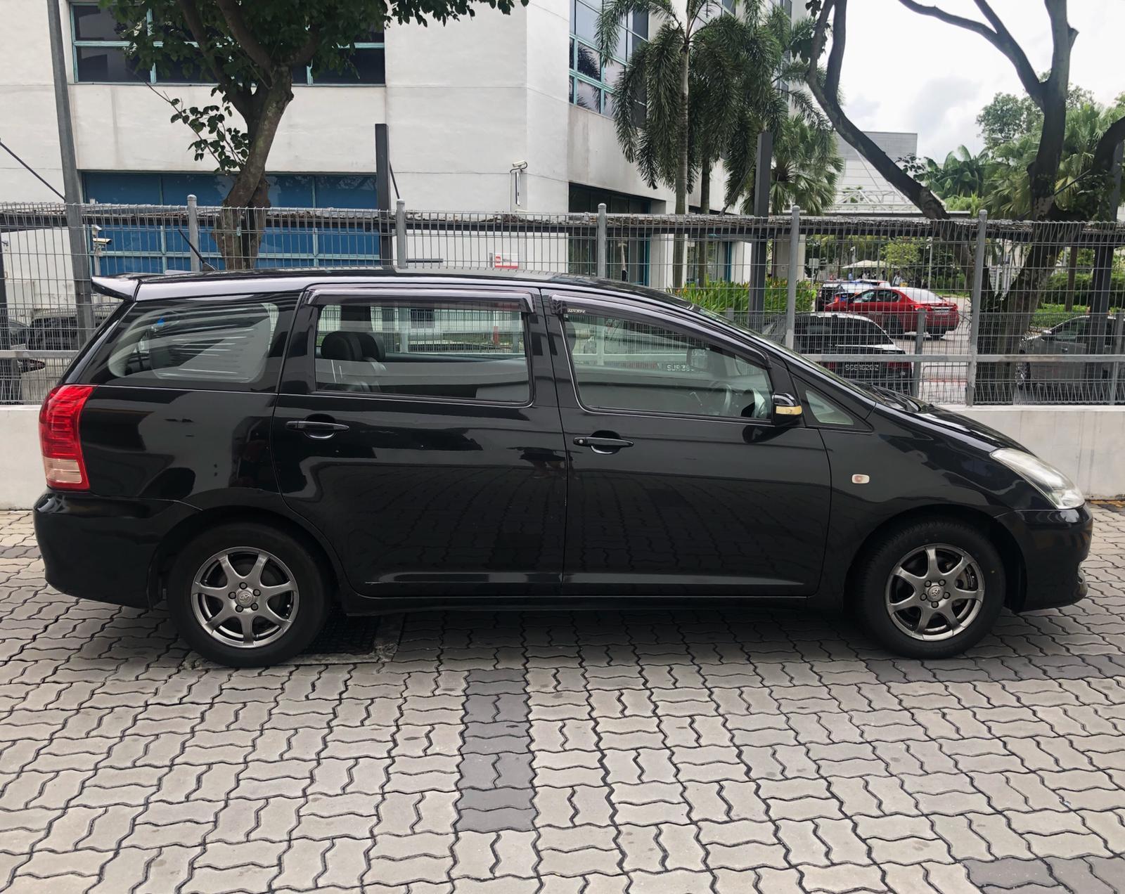 Toyota Wish Super Cheap Car Rental for Grab Gojek Ryde Personal use