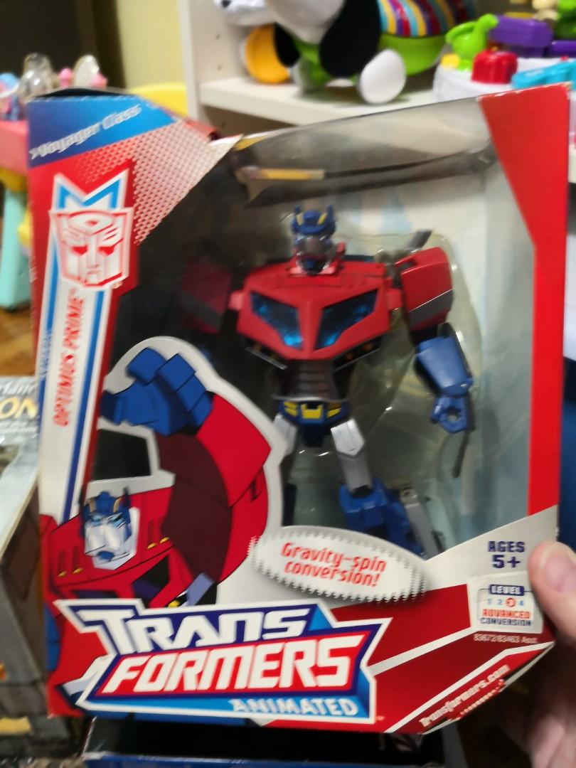 Transformers Animated Optimus Prime Voyager class