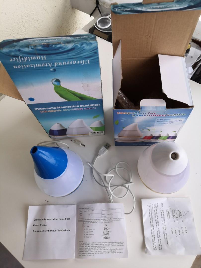 Ultrasound atomization humidifier ×2 unit