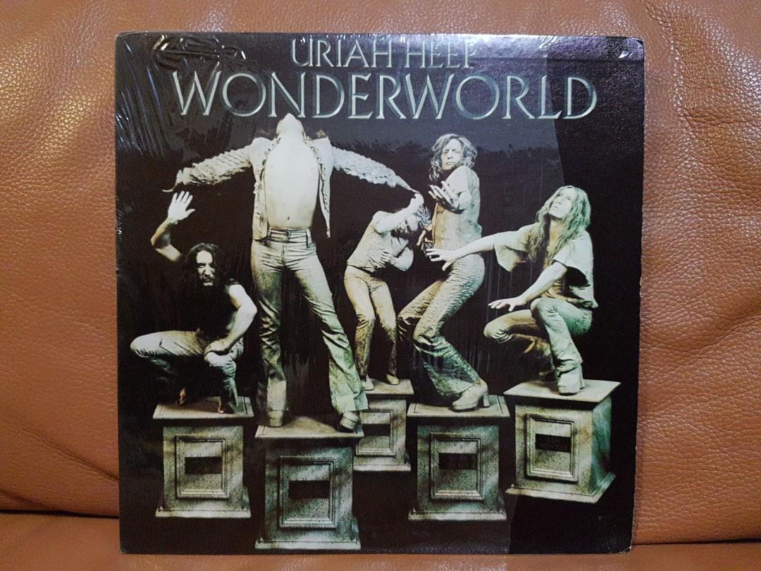 Reserved Uriah Heep Wonderworld Vinyl Records Vintage Collectibles Vintage Collectibles On Carousell