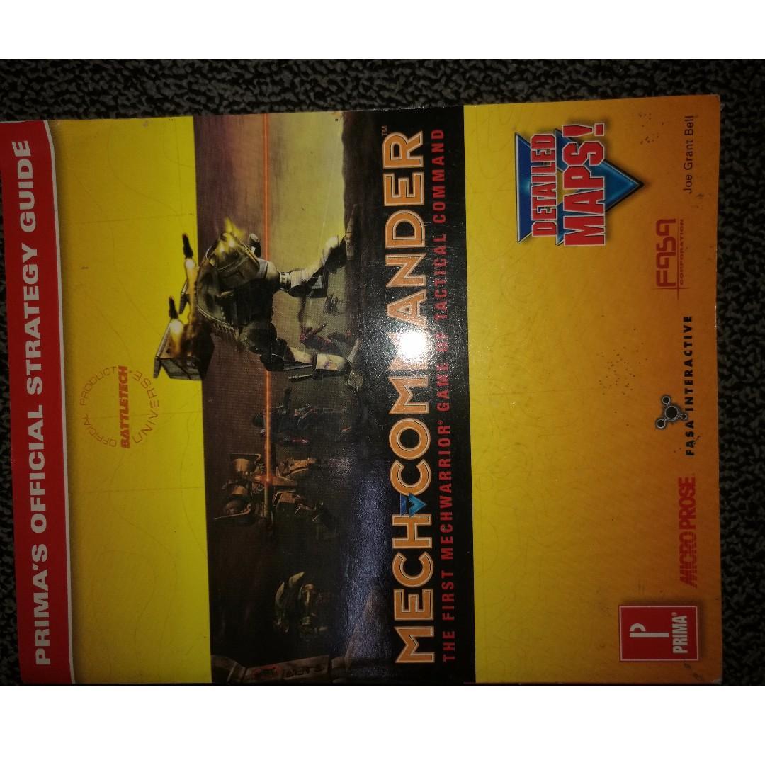 Various Books (Photoshop, Maya, Desktop Publishing, Mech Commander) - CEBU CITY