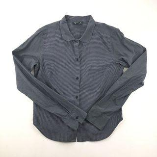 agnès b 長袖條紋襯衫
