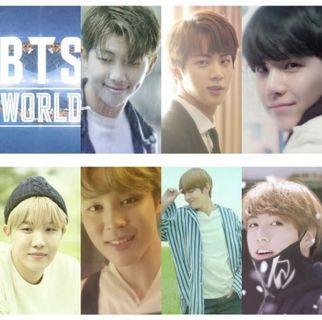 [WTS] BTS WORLD OST Limited Edition Story Cards
