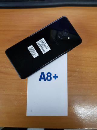 Samsung A8 plus black fullset