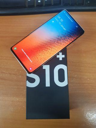 Samsung s10 plus prism white