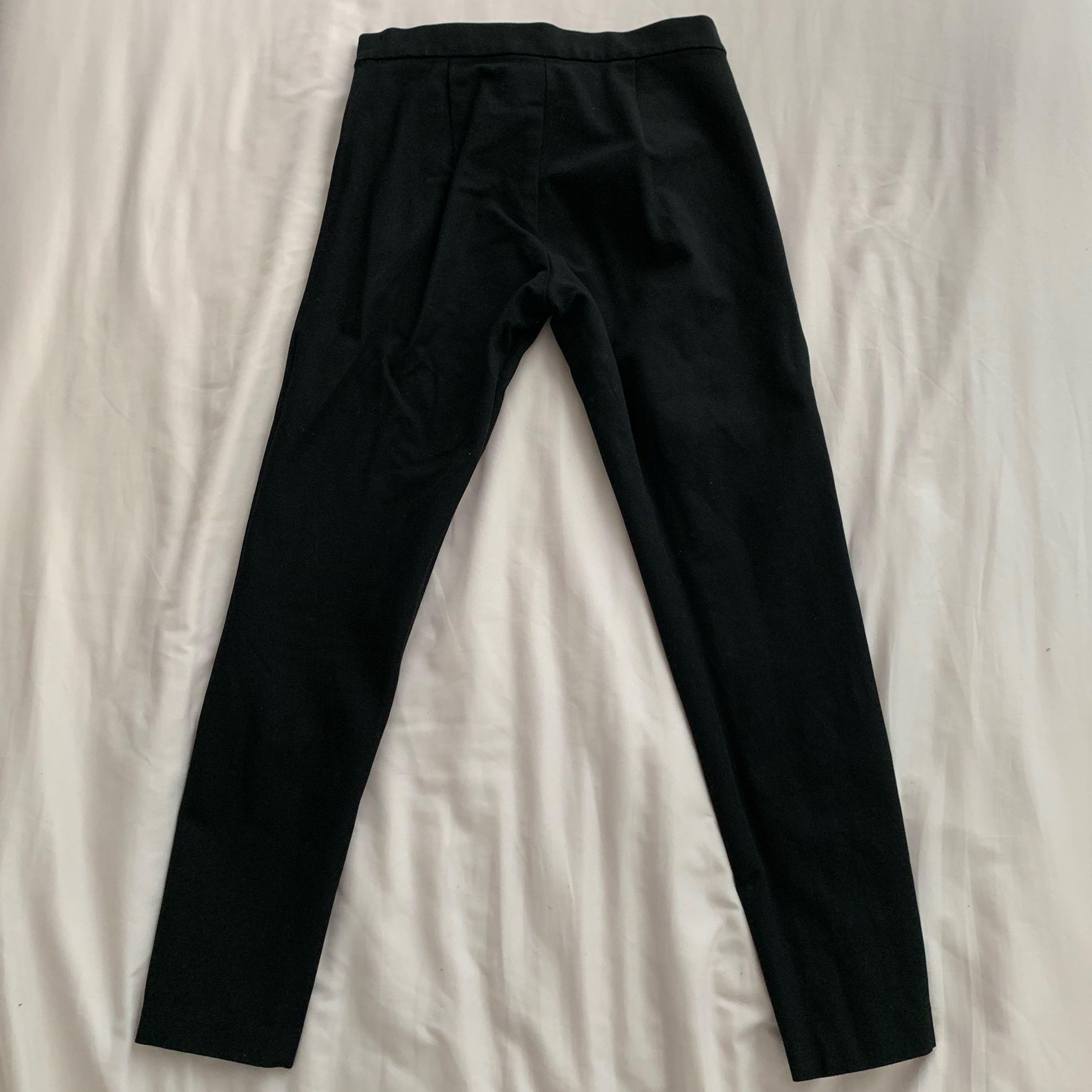 00P Banana republic black cropped ankle pants Devon