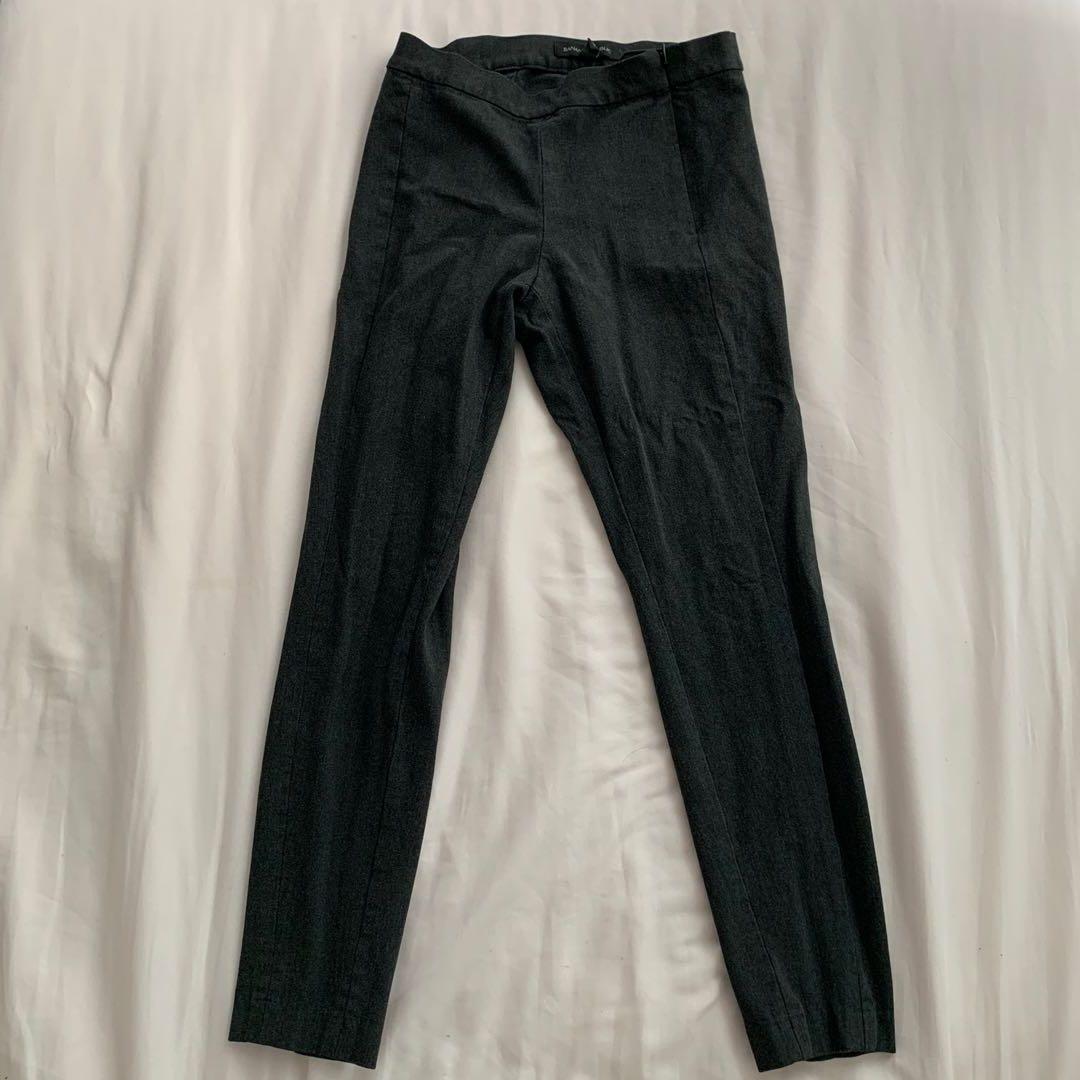 00P Banana republic heather grey cropped ankle pants Devon