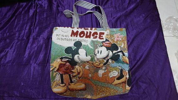 Mouse米奇米妮收納袋45*42cm打包袋旅行袋萬用袋