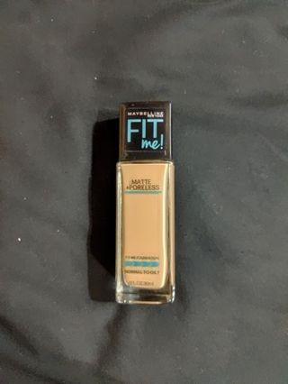 Maybelline Fit Me Foundation - 125 Nude Beige