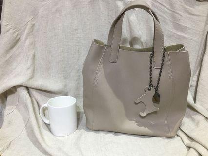 Le Polka 皮革手提包包