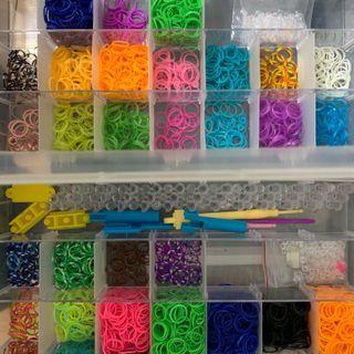 橡皮筋編織組兩盒
