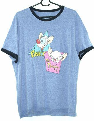 Pinky and the Brain T Shirt Size XXL