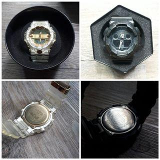 Bundle Deal - Limited Edition Casio G-Shock GA835-7ADR Japan Edition +  GA -100 - 1A1ER