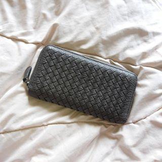 The Executive Gray Wallet Dompet Abu Panjang Wanita