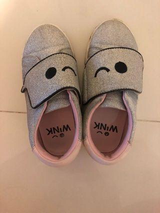 Wink silver sport shoe Eur28