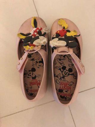 Mini Melissa Minnie Mouse size 11 US