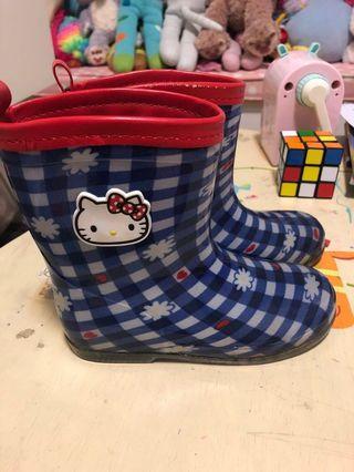Sanrio brand rain boots hello kitty 18cm Japan size