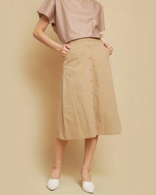 Rainne Skirt Brown This Is April