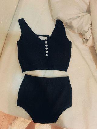 針織泳衣套裝
