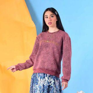 SWEATER MAROON LOONY
