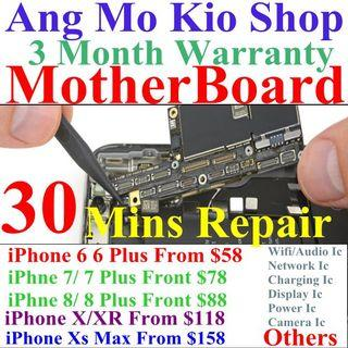 iphone 7 8 X Motherboard Repair Service,Battery Replacement